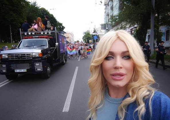 Травести-дива Монро была в Киеве на гей-параде