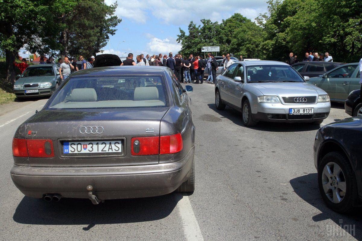 Европейские автомобили скоро можно будет узаконить