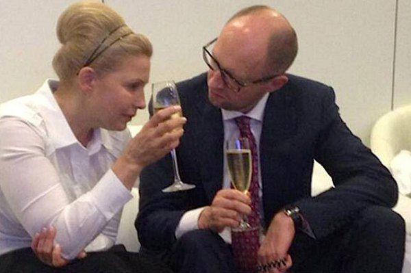 Картинки по запросу яценюк и тимошенко фото