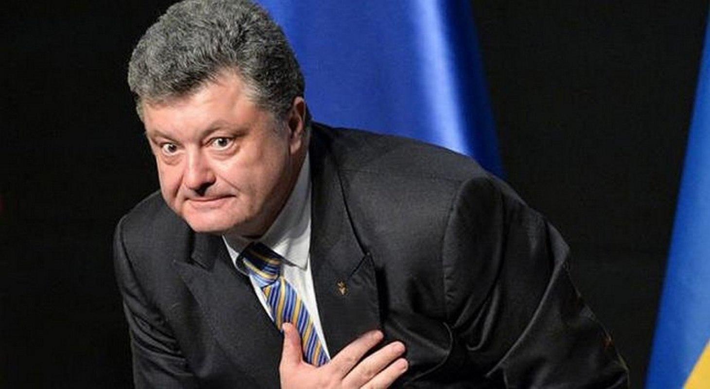 порошенко кланяется