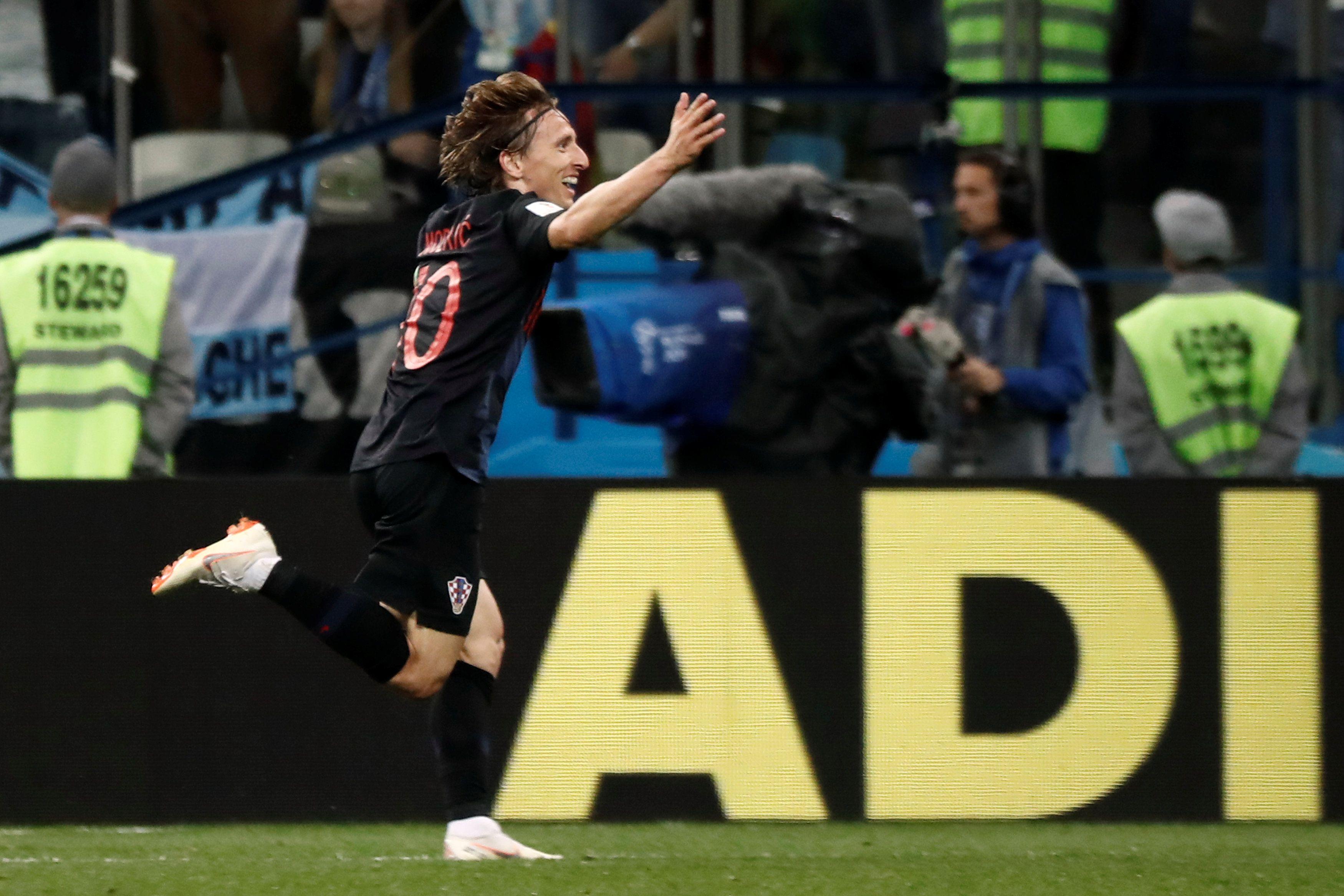 Хорват получил Золотой мяч, второе и третье места заняли бельгиец и француз