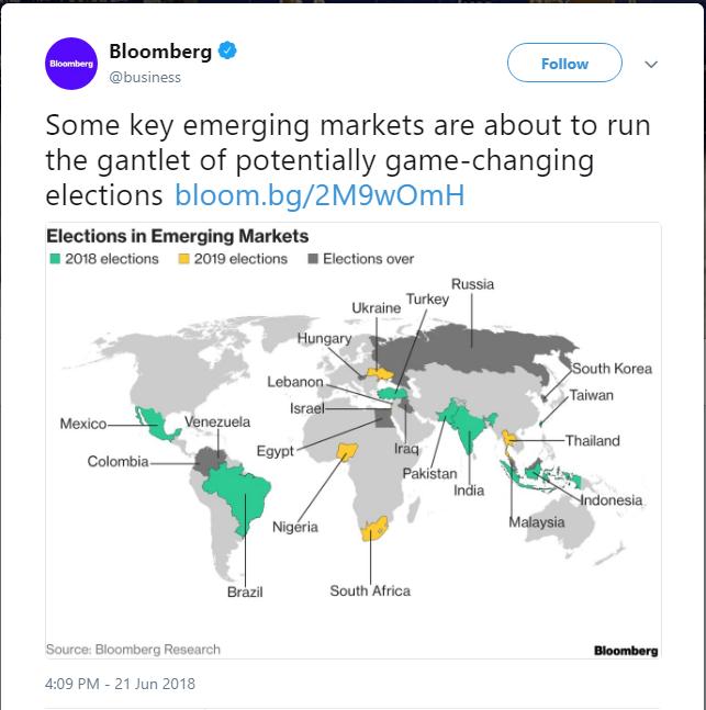 Bloomberg выложил в Сеть карту Украины без Крыма