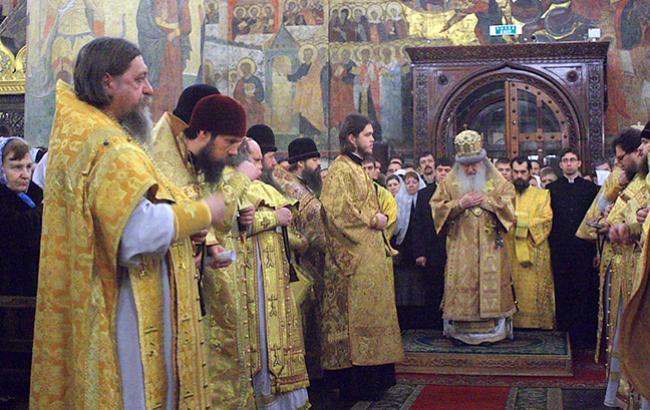 В РПЦ начинается разброд и шатание