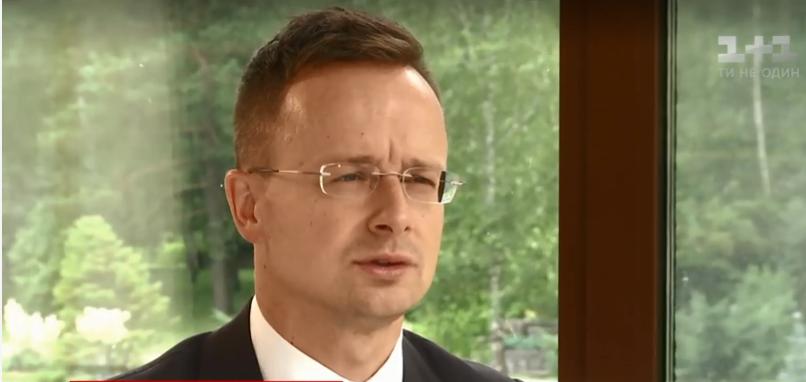 Сийярто не прекращает делать антиукраинские выпады