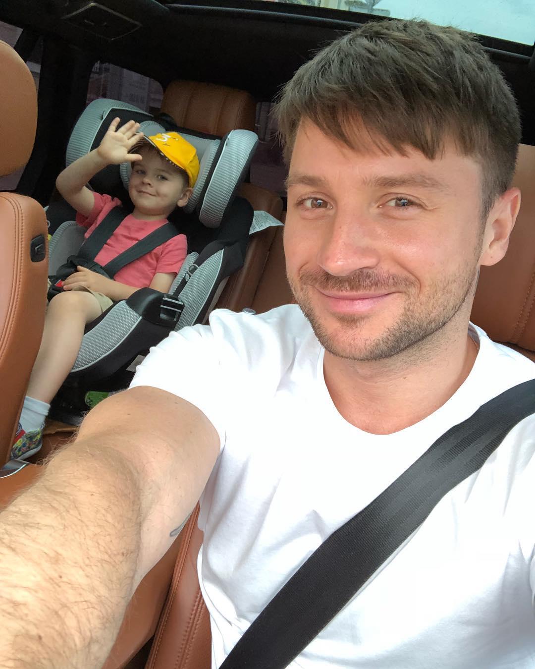 Сергей Лазарев и его сын Никита