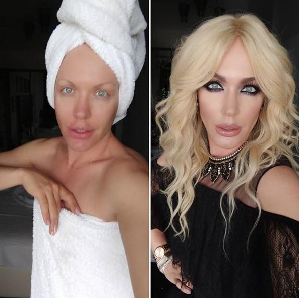 Травести-дива Монро позировала без макияжа