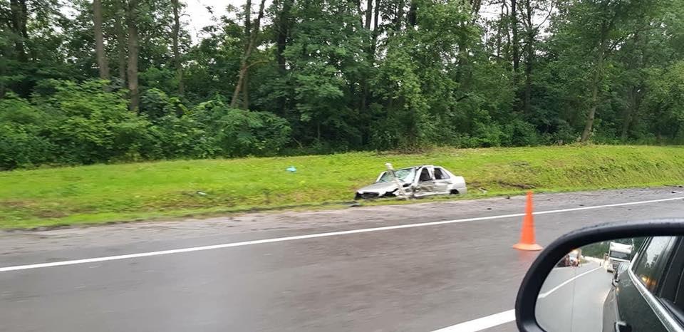 Посол Швейцарии попал в аварию под Львовом