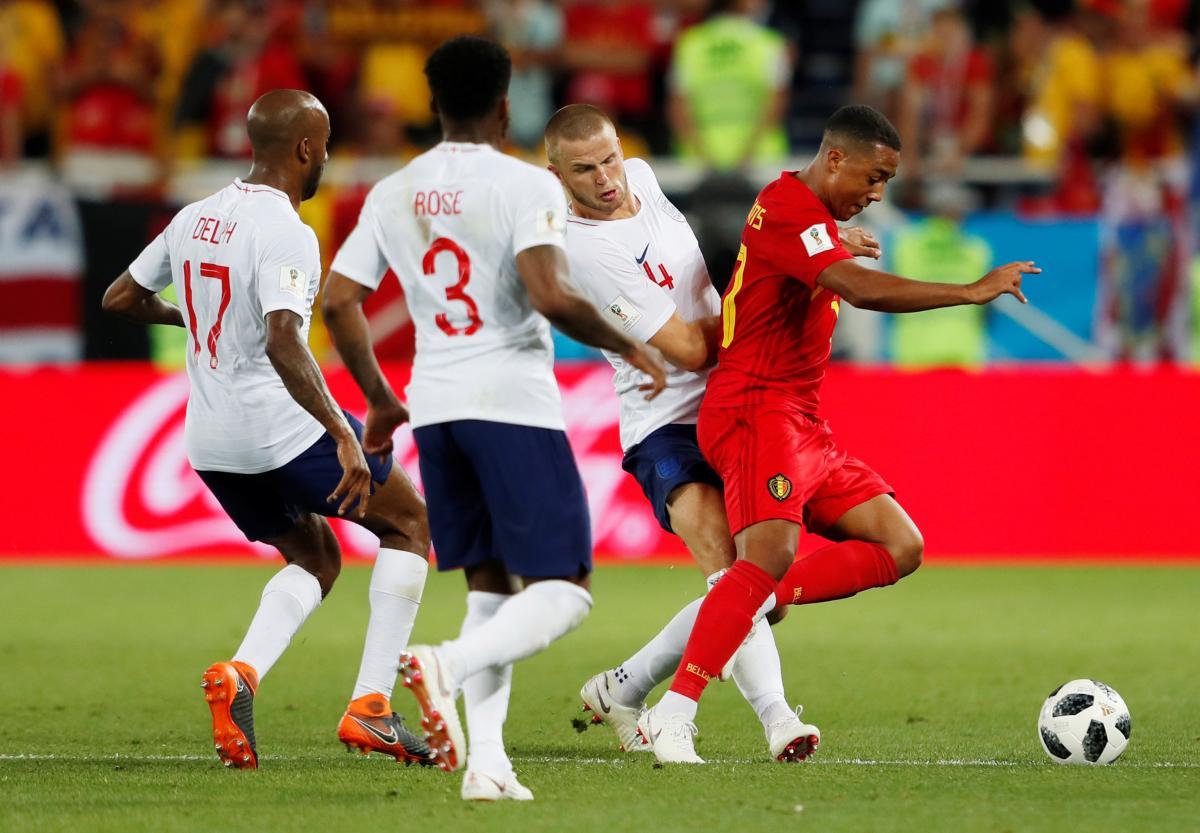 На ЧМ Бельгия выиграла у Англии