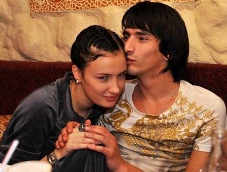 Приходько с гражданским мужем Нури Кухилава