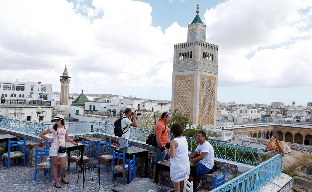 Украинцы расселены в отелях Туниса
