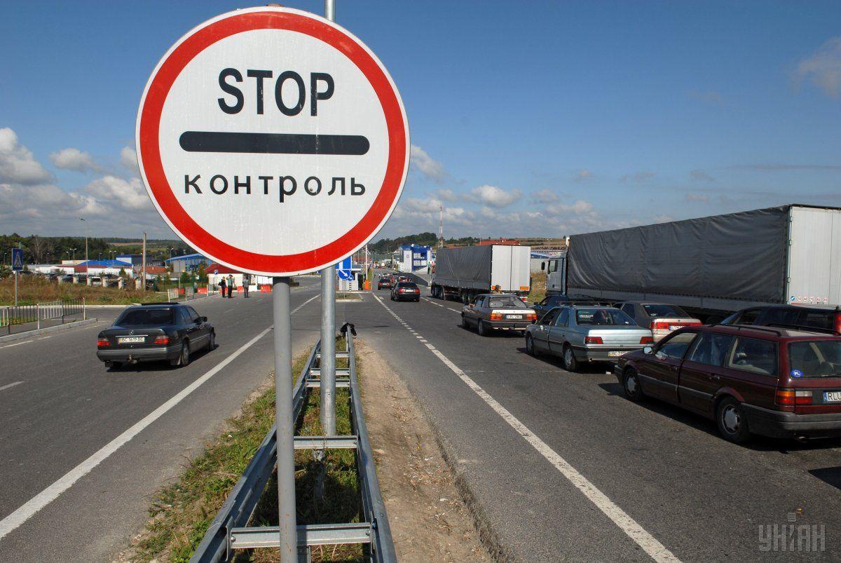 Очередь на пункте пропуска в Польшу можно увидеть через мобильное приложение