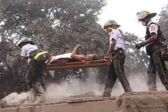 При извержении вулкана в Гватемале пострадали 1,7 миллиона человек