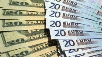 Курс доллара и курс евро в Украине пошли вверх