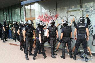 """""""Не пошли на диалог"""": полиция сообщила о новом столкновении с противниками """"Марша равенства"""""""