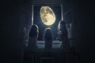 Луна_полнолуние_дети