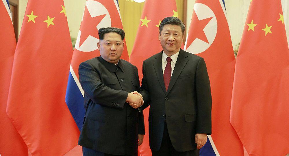 Ким Чен Ын и Си Цзиньпин