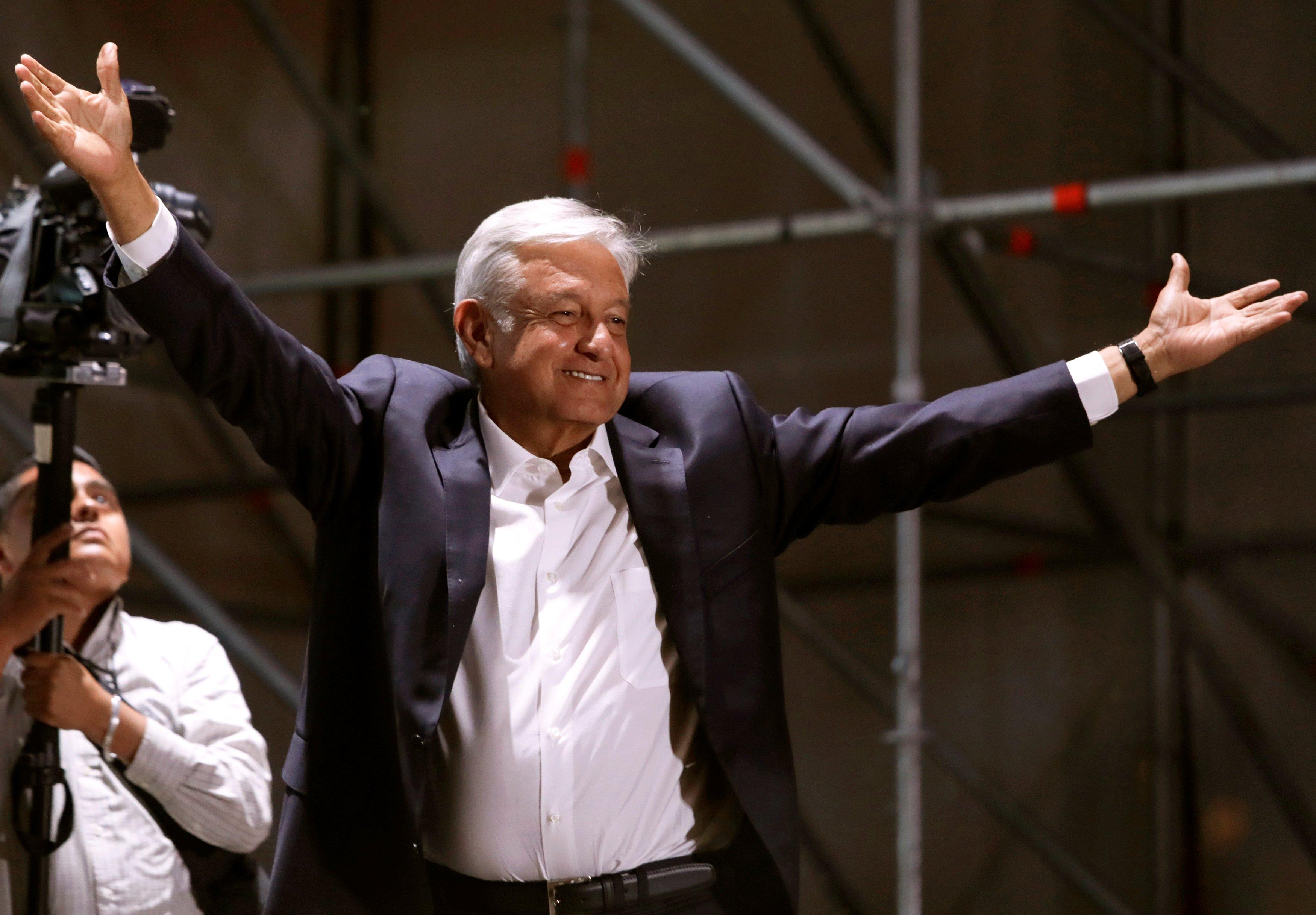Новый президент Мексики Андрес Мануэль Лопес Обрадор.