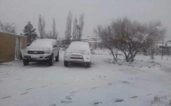 Let it snow по-африкански: посреди жаркого лета Кейптаун завалило снегом (фото, видео)