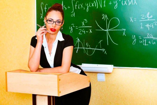 Учительница соблазнила