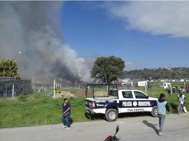 В Мексике взорвался завод фейерверков