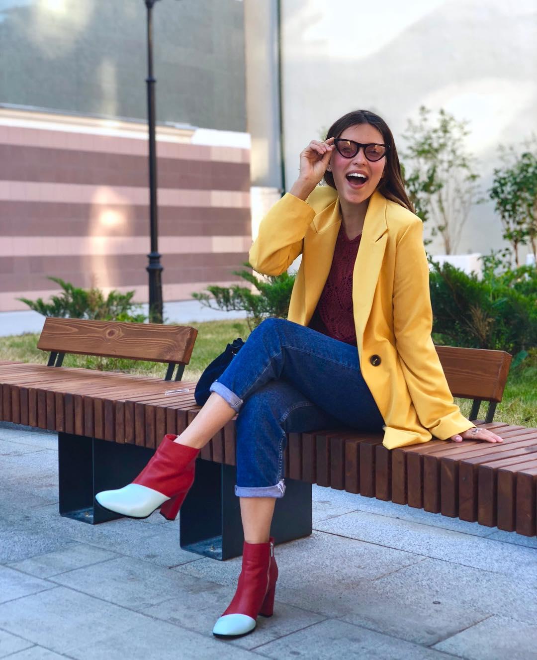 Тодоренко показала стильны йобраз
