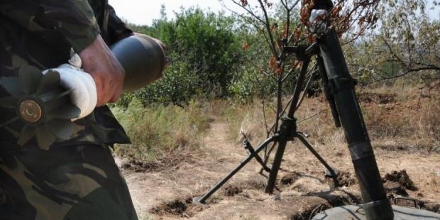 На Донбассе разорвался миномет