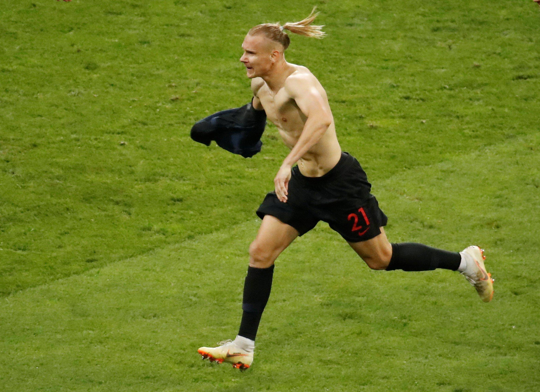 Домагой Вида после победы сборной Хорватии над россиянами выкрикнул