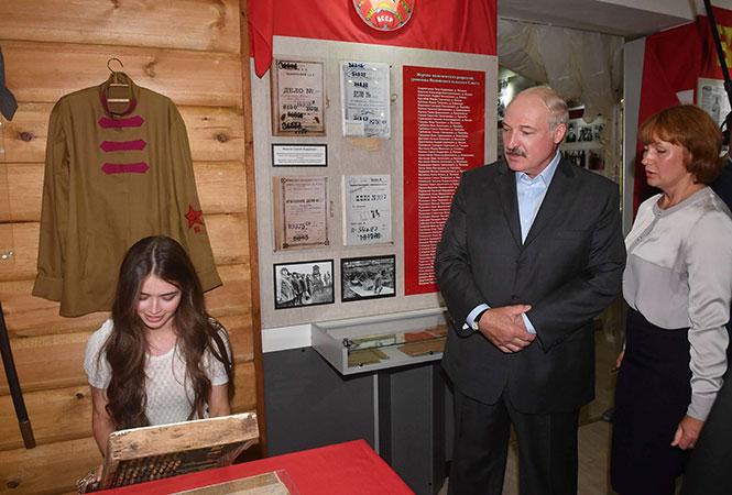 / пресс-служба президента Беларуси