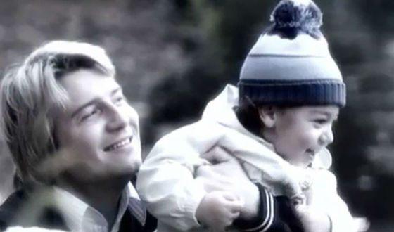 Николай Басков с сыном Брониславом