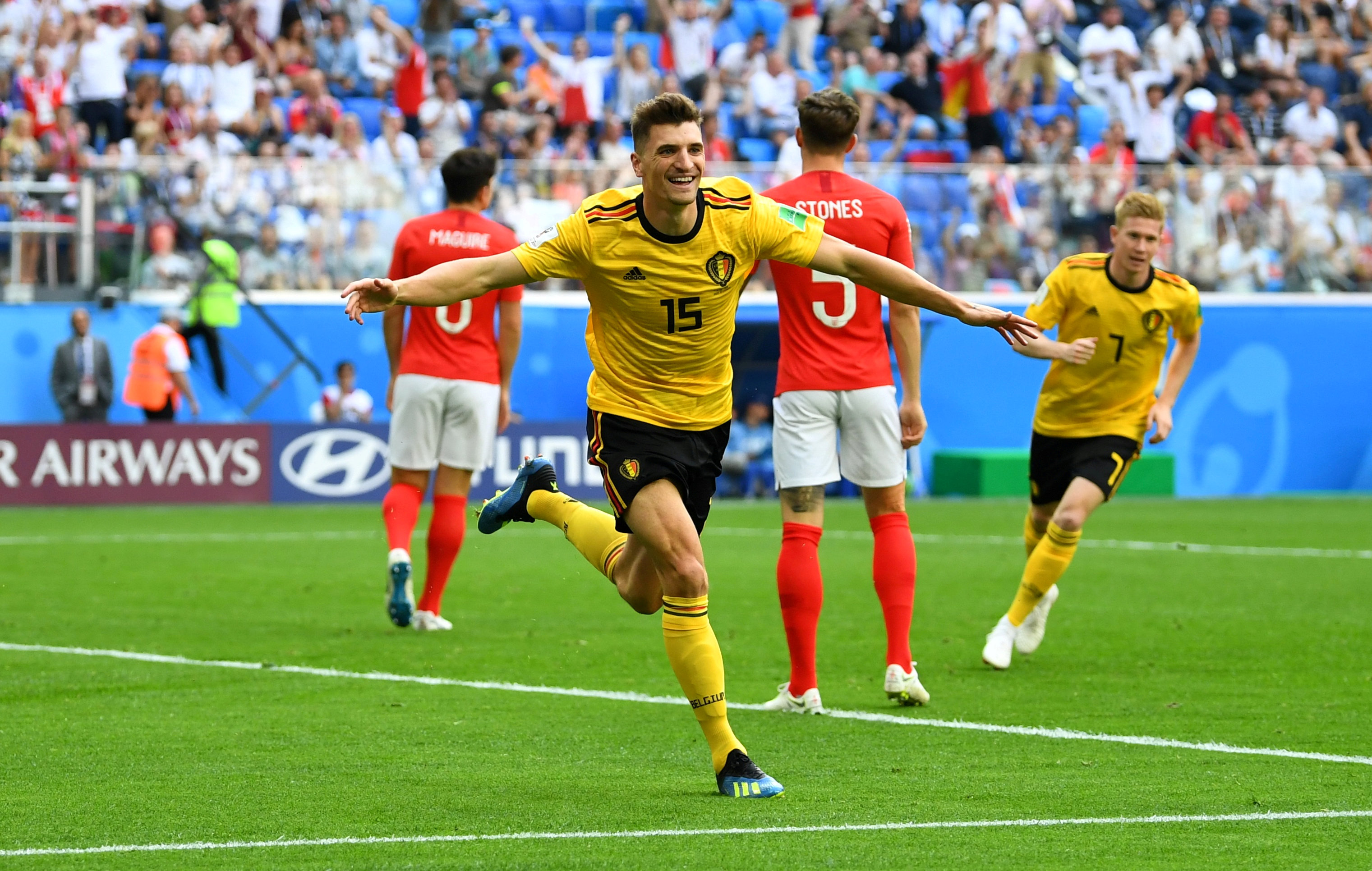 Прогноз на матч Англия - Бельгия: голов будет забито меньше трех