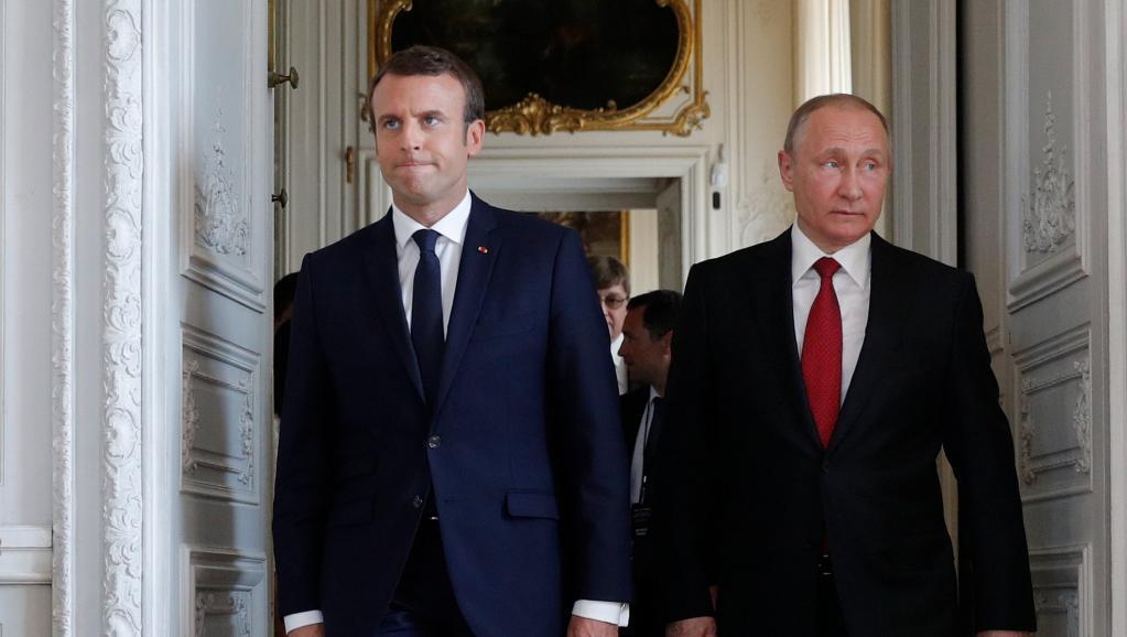 Макрон и Путин встретятся накануне финала ЧМ-2018