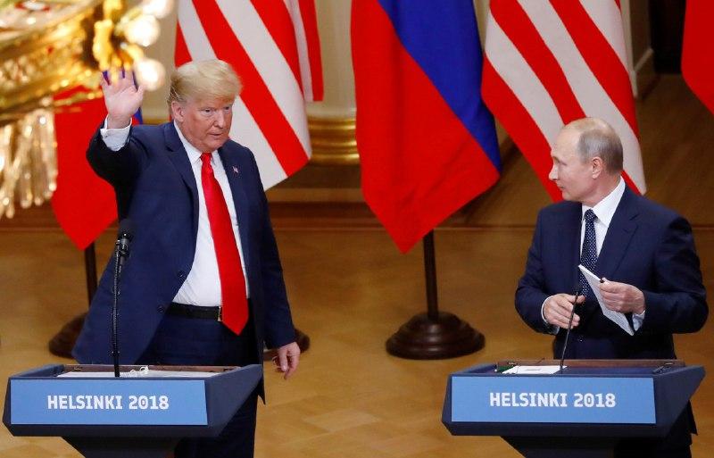 Трамп перестал верить в вмешательство России в выборы (фото Reuters)