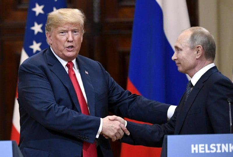 Трамп и Путин провели встречу в Хельсинки