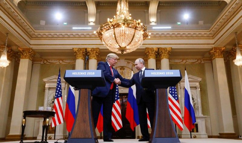 Трамп хочет снова втретиться с Путиным