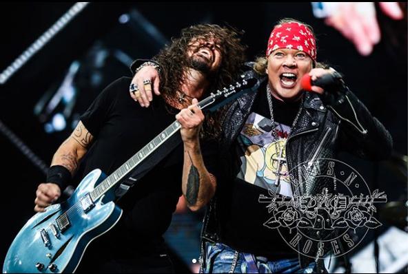 Guns N' Roses стали рекордсменами на видеохостинге