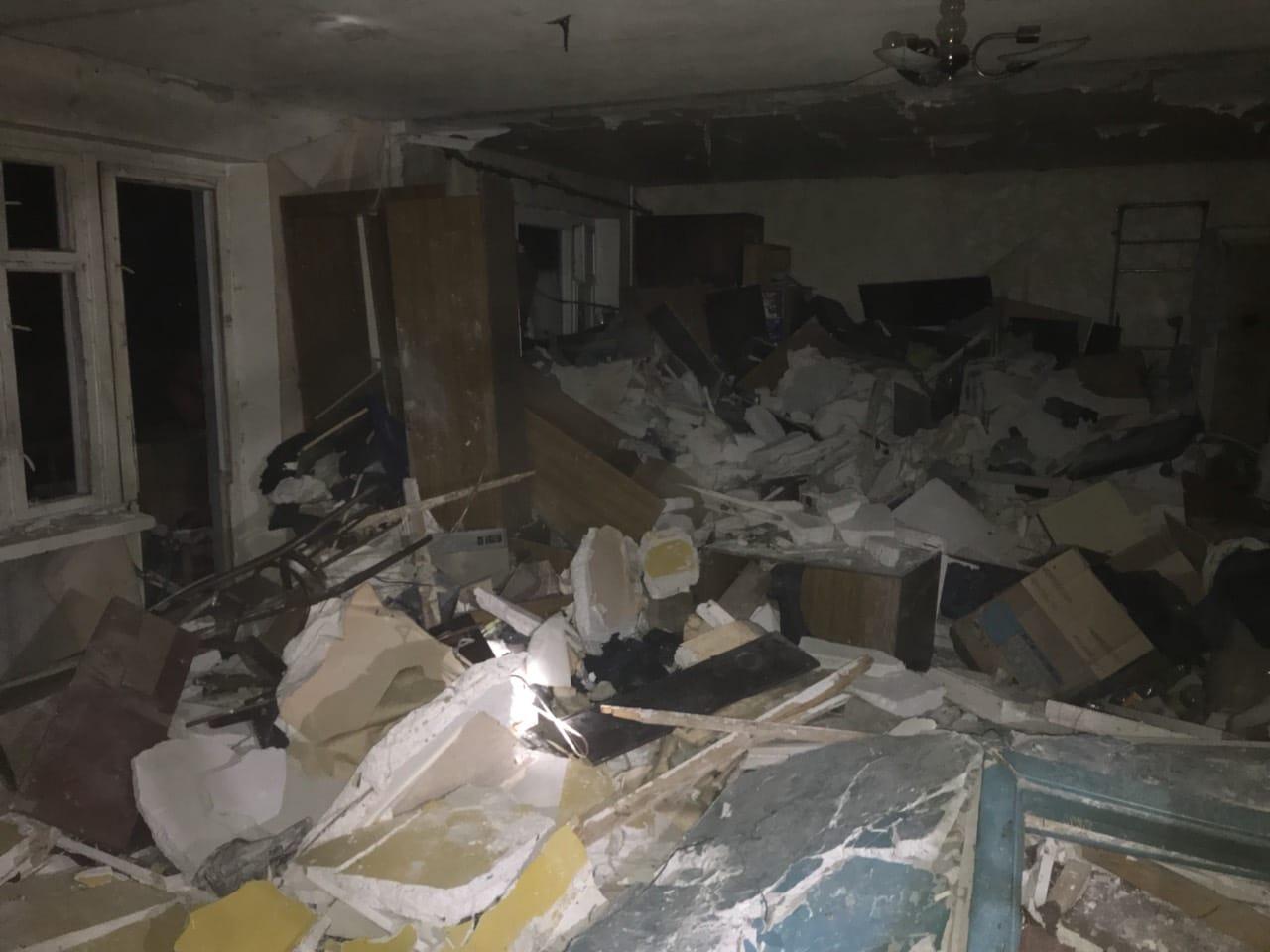 В Кривом Роге в результате взрыва в девятиэтажке пострадали три человека
