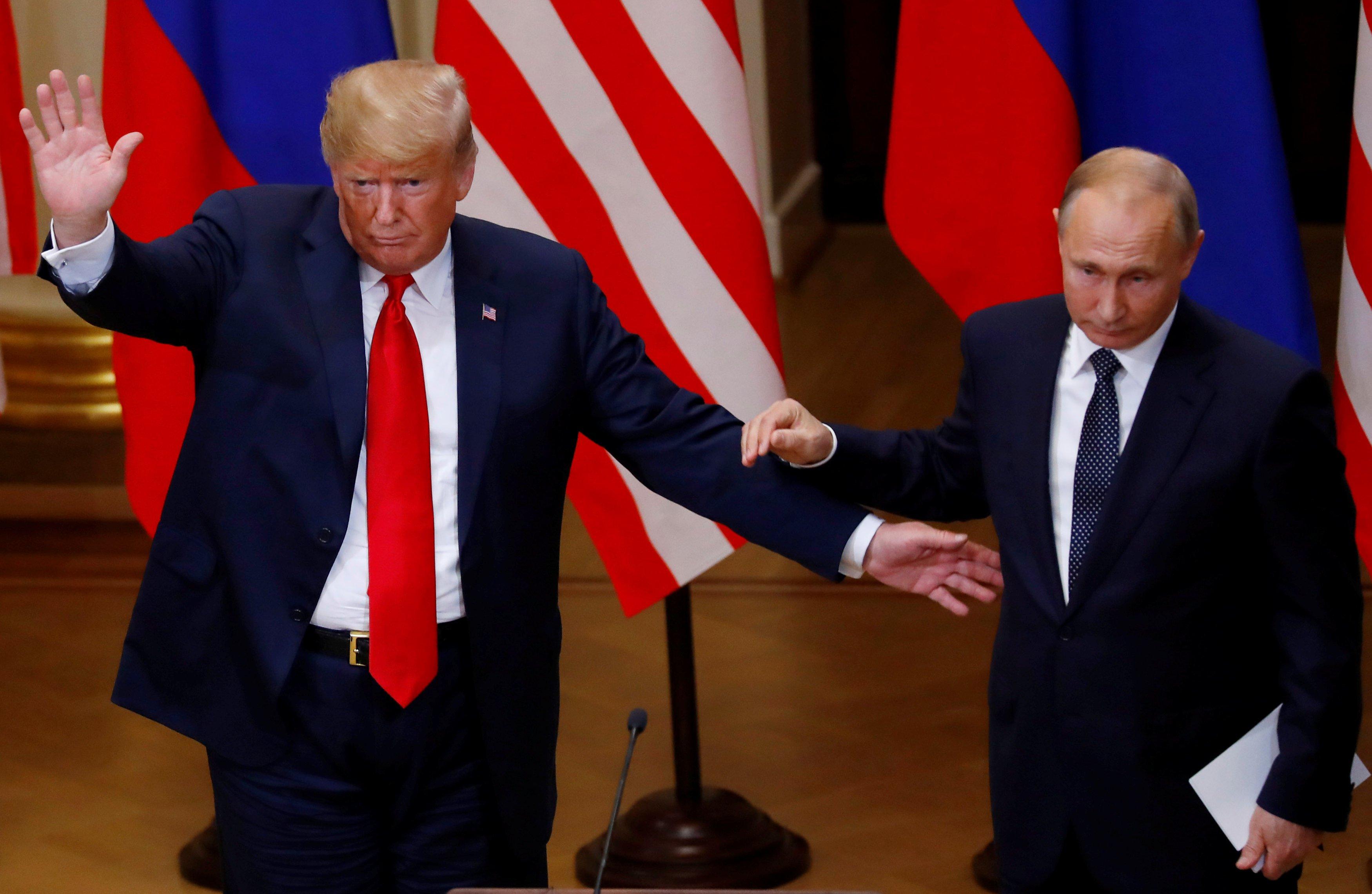 Дональд Трамп считает, что, вероятнее всего, встретится с Владимиром Путиным в Париже