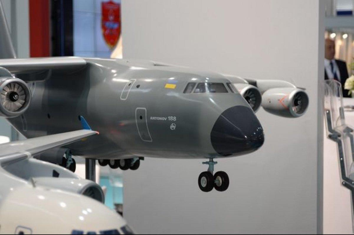 Украина и Турция будут разрабатывать Ан-188
