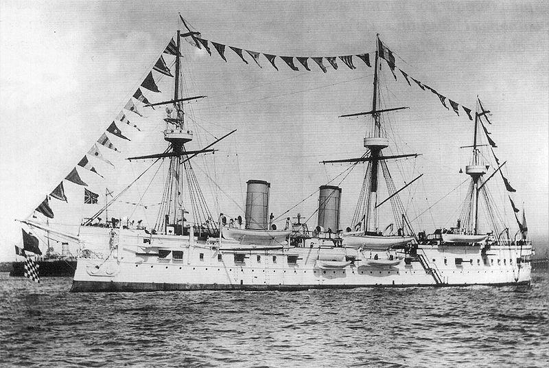 Найден затопленный российский крейсер