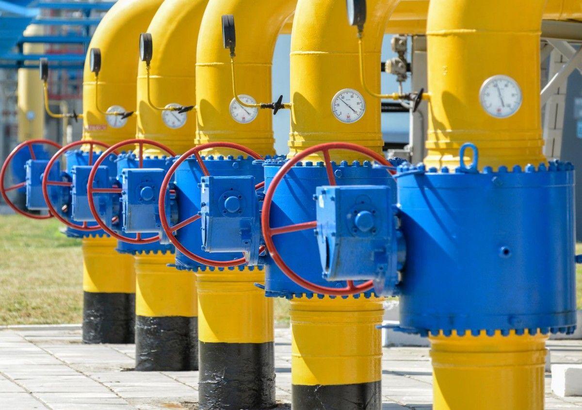 Трубы газопровода