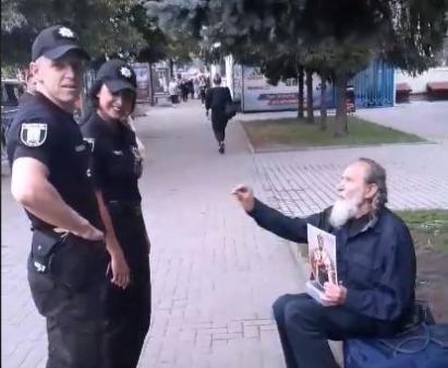 Мужчина пытался от полиции откреститься