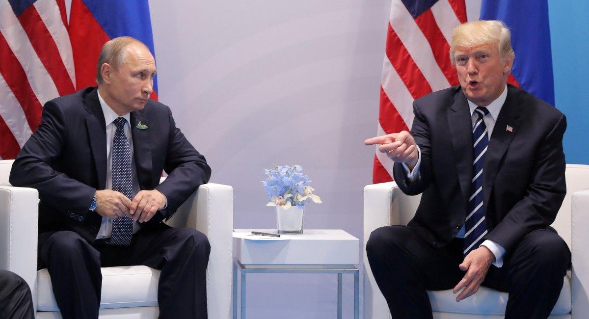 Трамп - Путин