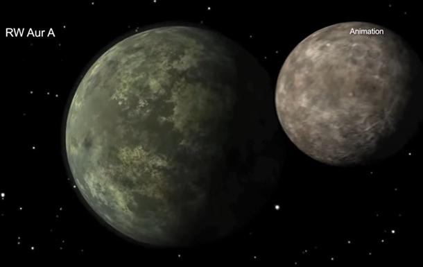 Звезда RW Аур A поглощает собственные планеты