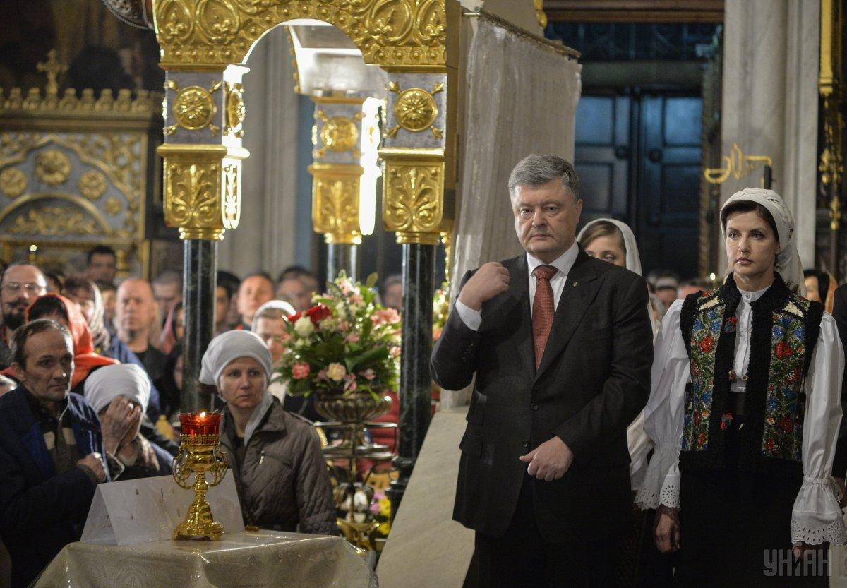 Порошенко посоветовал молиться