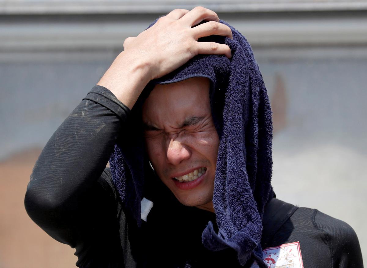 Япония страдает от жары
