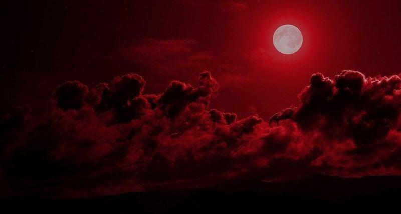 Кровавое лунное затмение произойдет 27 июля