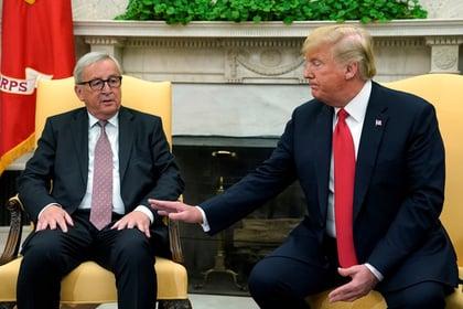 Трамп и Юнкер пришли к консенсусу относительно пошлин