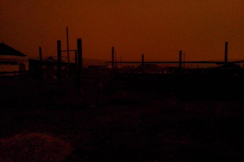 Три часа Север Якутии был погружен во тьму