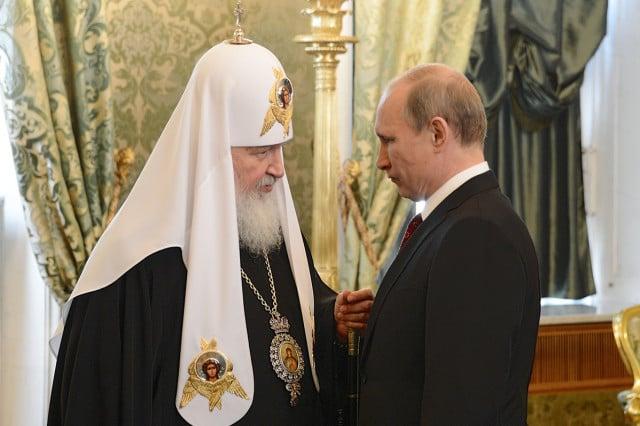 патриарх Кирилл, владимир путин