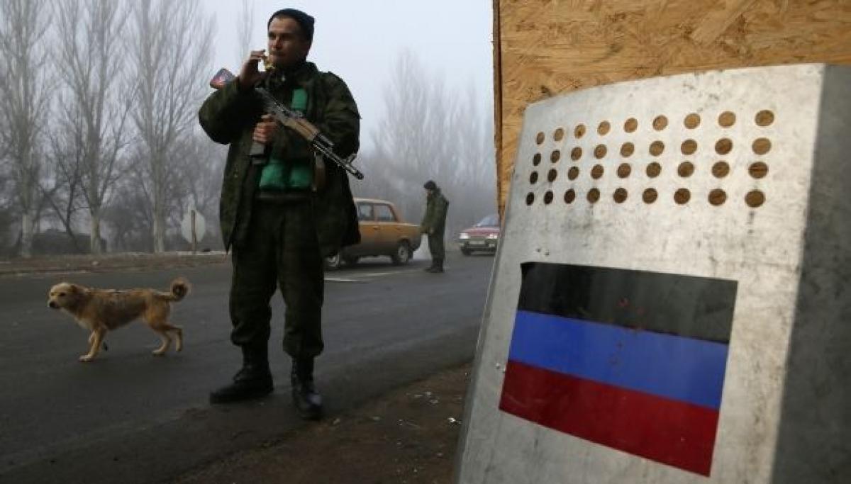 На захваченной части Донбасса перевернулся Мерседес Спринтер с пассажирами - Новости Донбасса